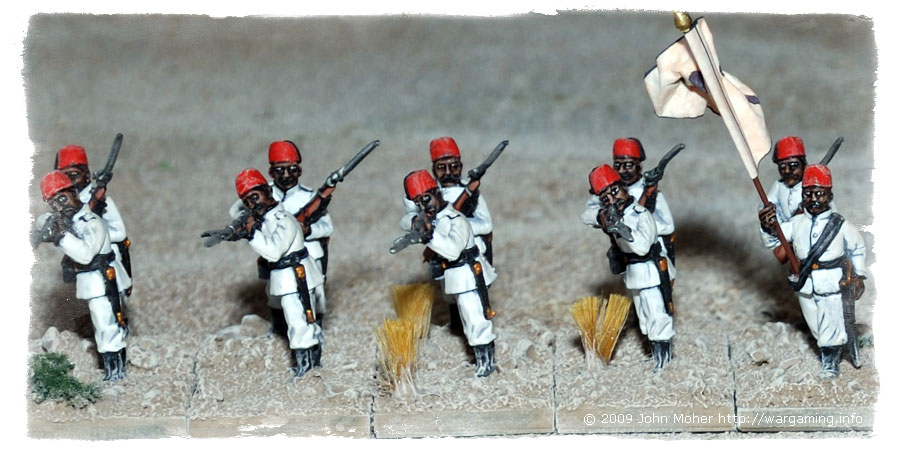 Close up of more of 3rd Company.