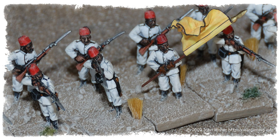 Close up of part of 4th Company.