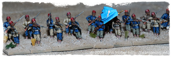 More of the 1st Company (Blue Flag) Sudanese Infantry.
