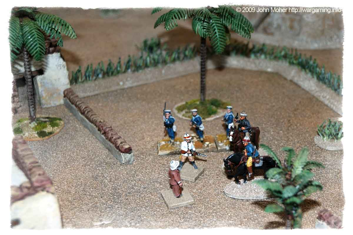 Sir Henry reaches the Village after the action, and greets the released captives...