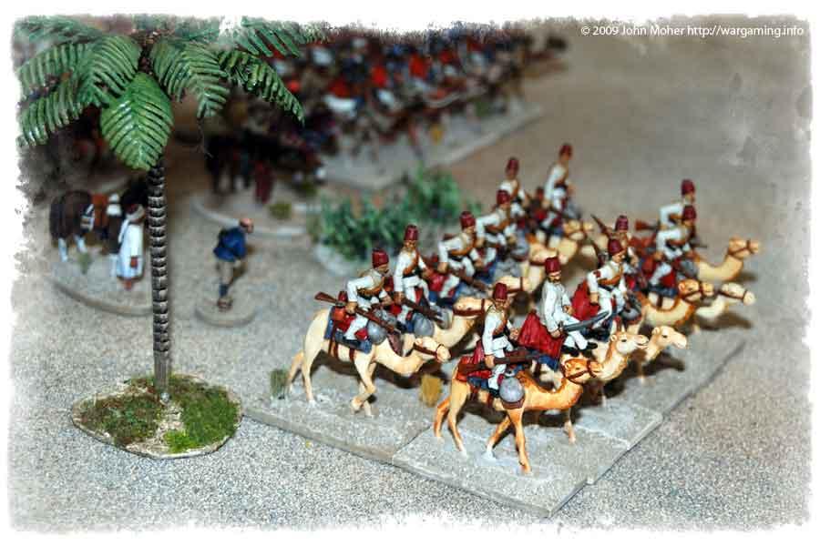 Egyptian Camel Corps Company.