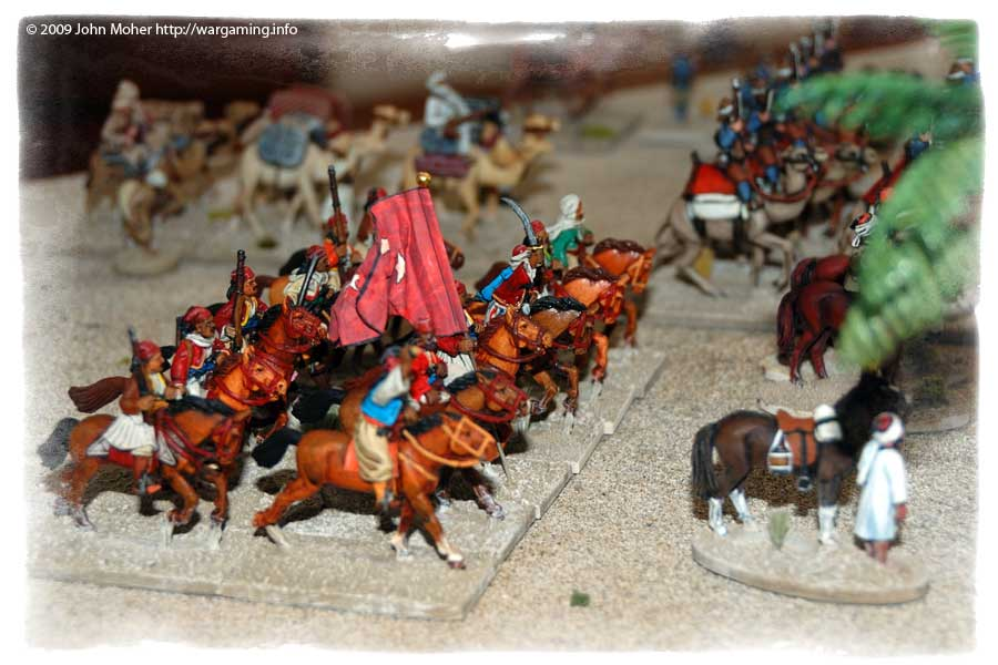 The Bashi-Bazouk Cavalry.