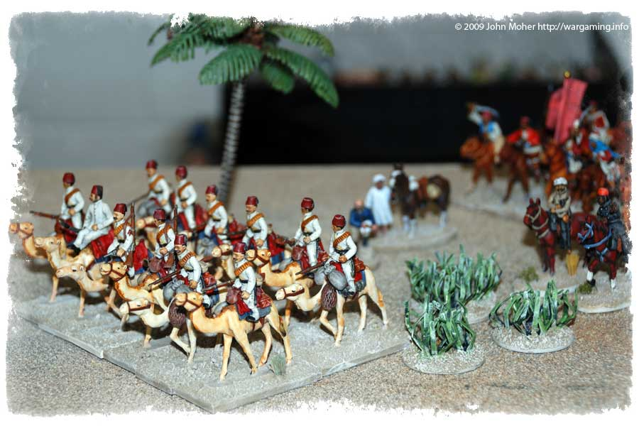 The Egyptian Camel Corps lead the way...