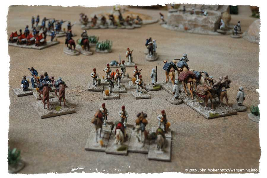 ...and the Egyptian Camel Corps break and run!