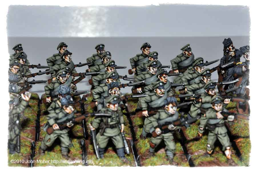 And more Raggardy Russian Infantry!