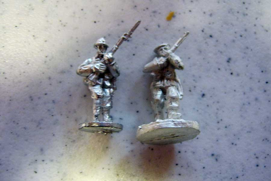 Friend Or For Romanian Mountain Troops Pack ROM18 compared with Axal-Liberation Belgian Infantryman
