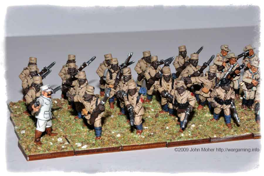 Another view of the Schutztruppe Askari.