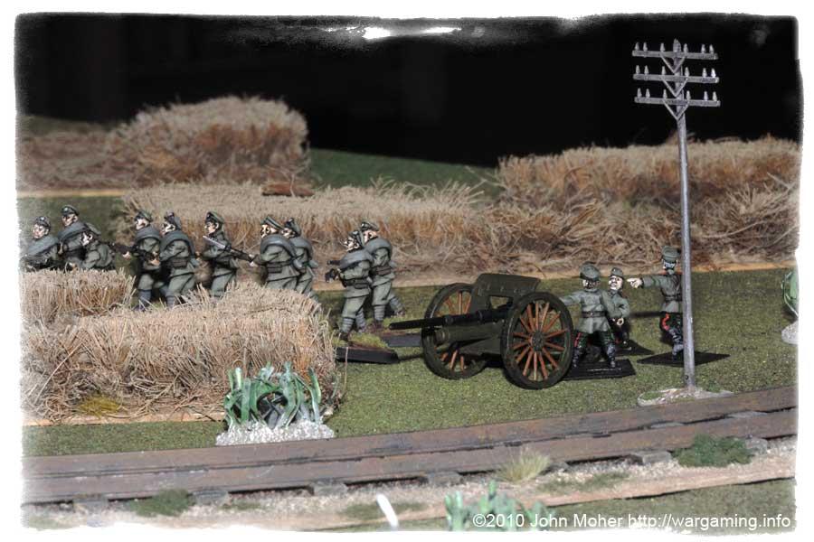 Russian Infantry & Artillery