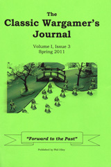 Classic Wargamers Journal Volume I Issue 3