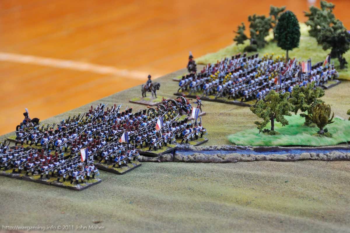 Start of Turn 1: The French Deployed and Ready to Advance