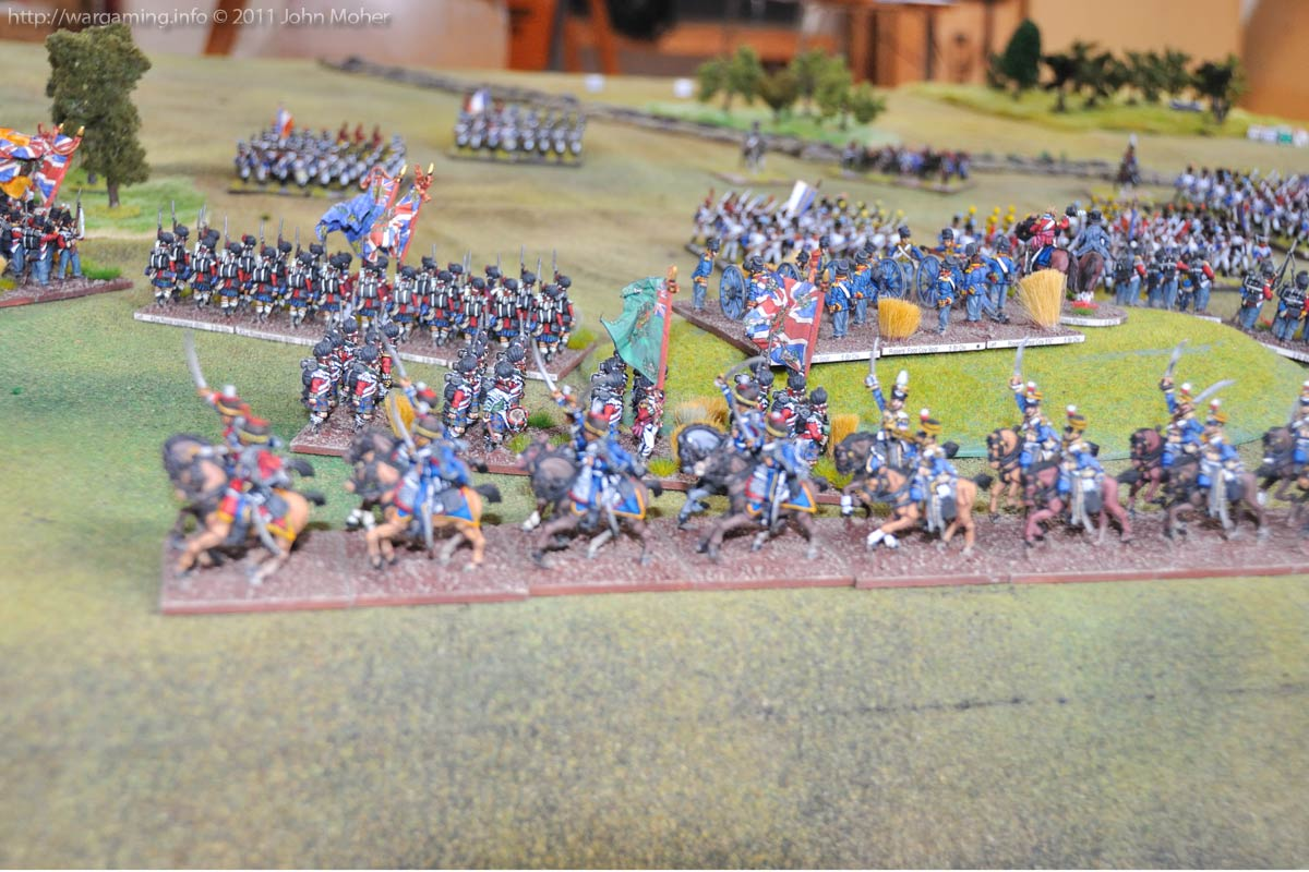 Turn 6 again: Another view of the British.
