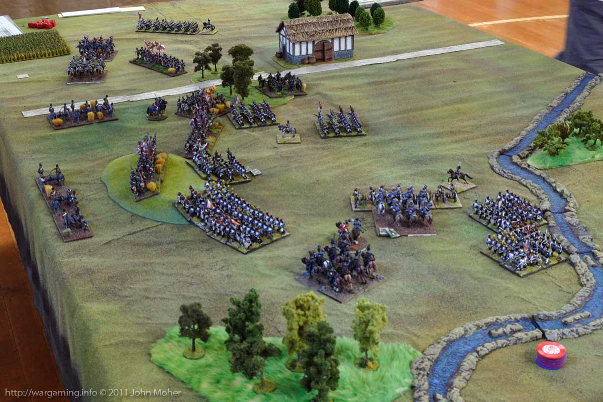 End of Turn 10: The 3rd KGL Hussars second charge!