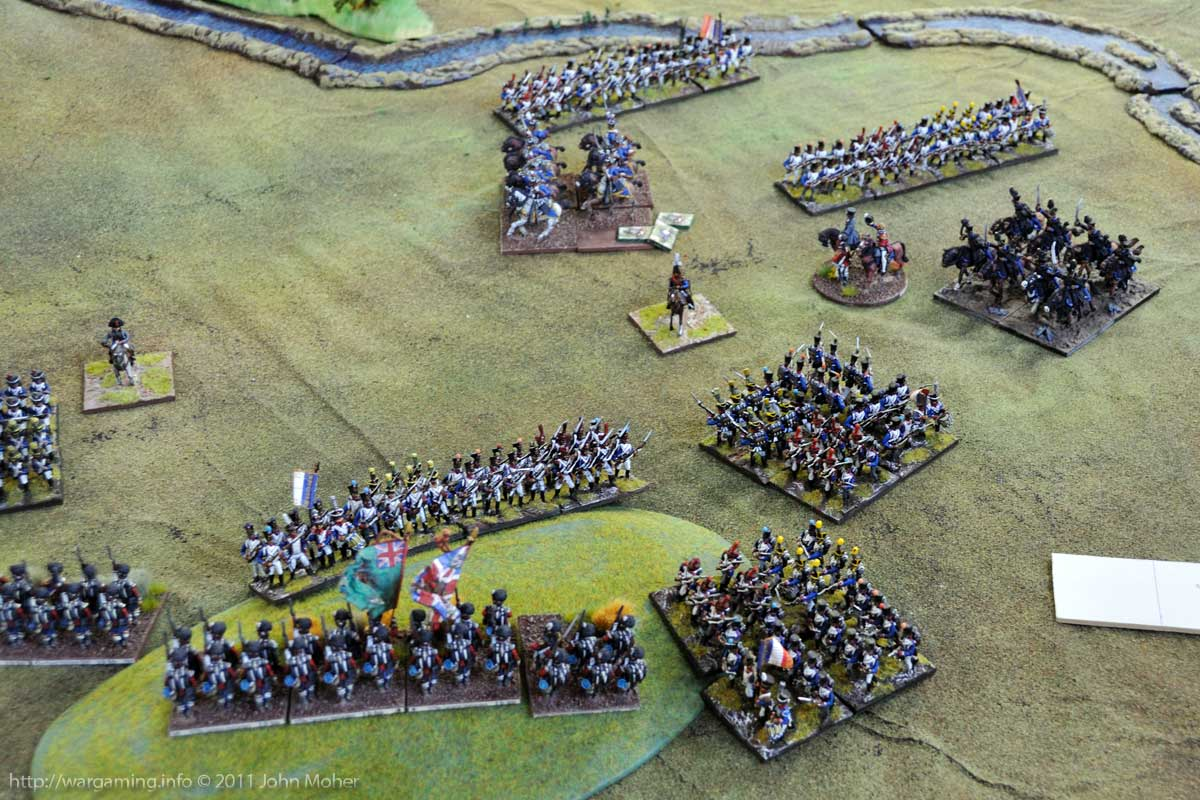 End of Turn 11: The Cameron Highlanders open flank comes under pressure.