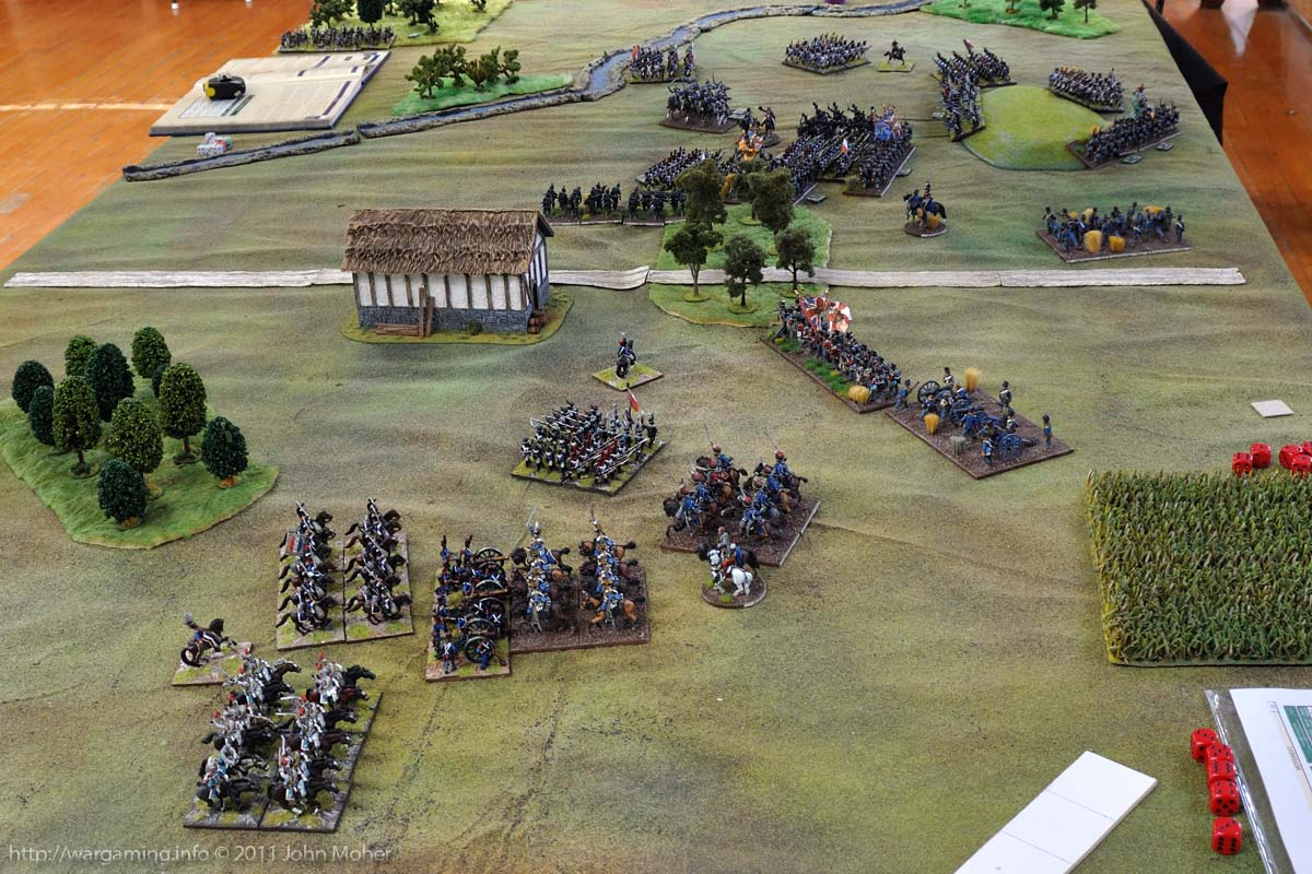 End of Turn 14: The charge of the 13th Light Dragoons.