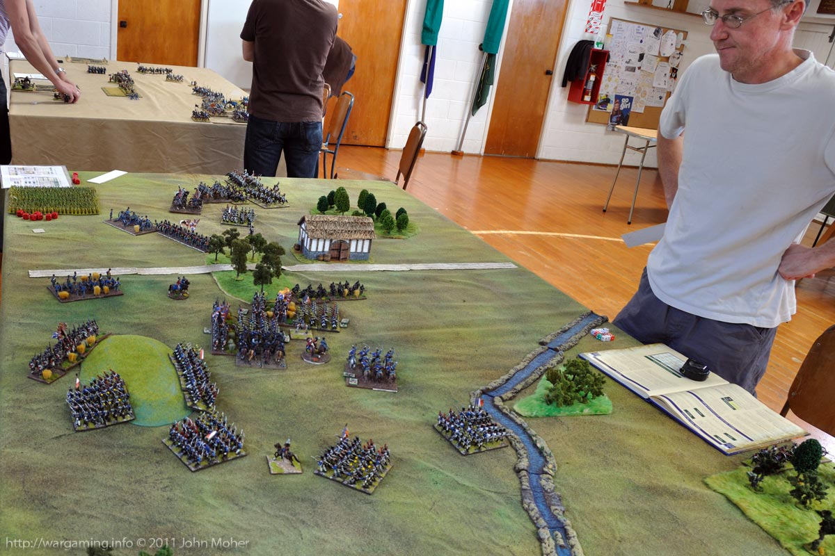 End of Turn 14: The charge of the 42nd Highlanders and Brunswick Hussars leaves Cam looking bemused.