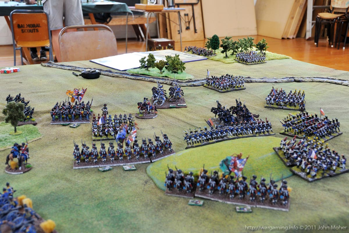 End of Turn 15: The 42nd & Brunswickers are repulsed! But the North Gloucestershires break through.