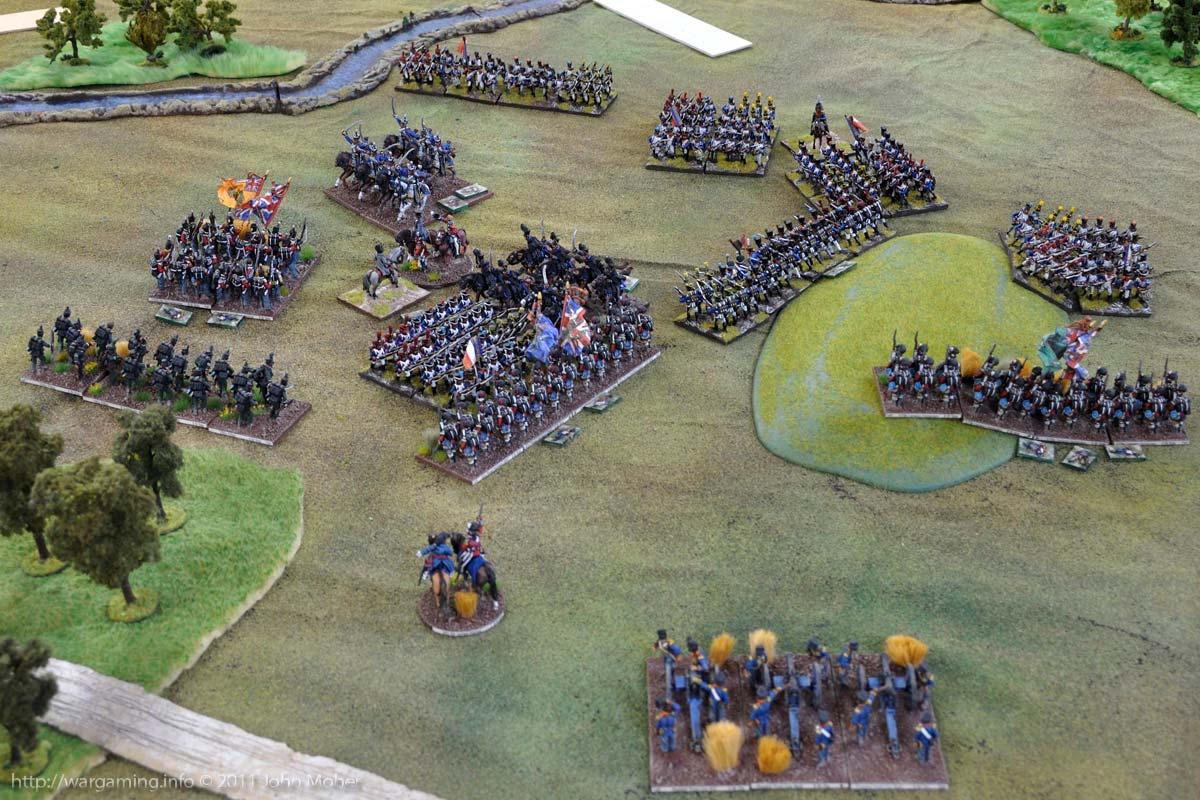 End of Turn 16: The 42nd & Brunswickers try again!