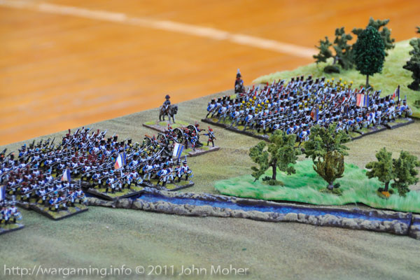 Turn 1: The French arrive enmasse