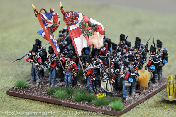 1/32nd Cornwall Regiment, Quatre Bras & Waterloo 1815.