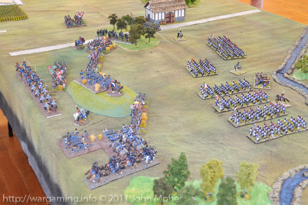 Turn 6: The British Cavalry arrive