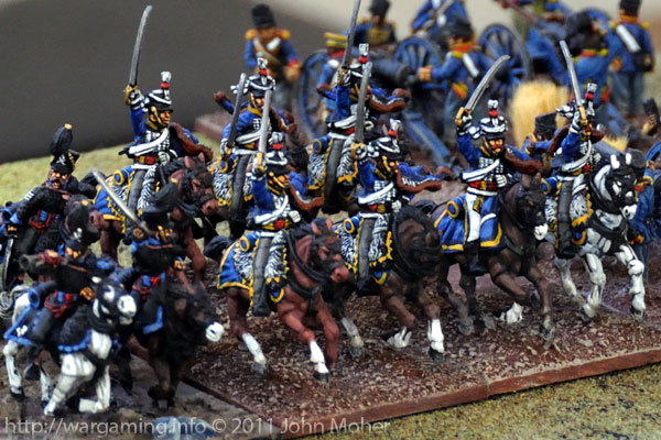 Turn 6: The 3rd Kings German Legion Hussars arrive