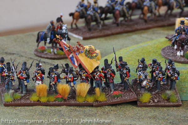 Turn 6: The 2/44th Foot (the East Essex Regiment) on the right