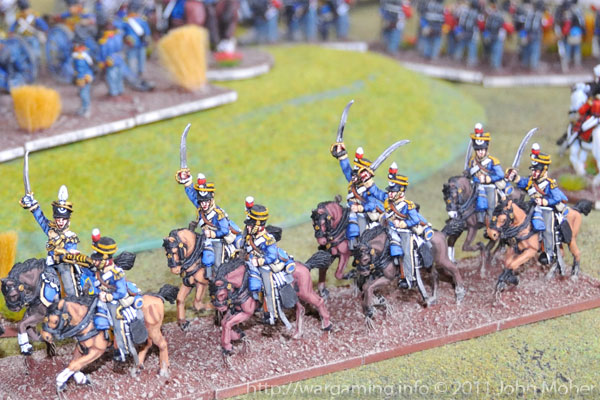 Turn 6: The 13th Light Dragoon Regiment march to the left