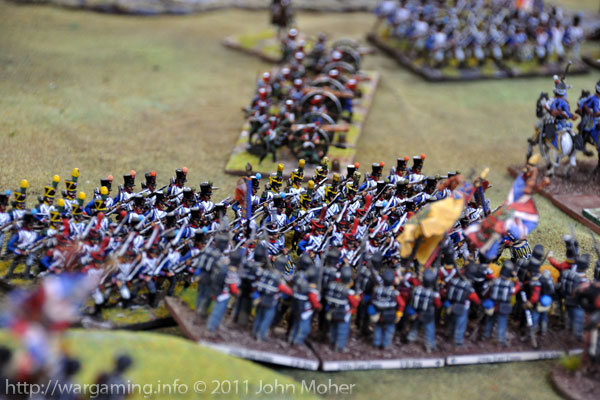 Turn 9: The 2/44th East Essex receive the full force of the French