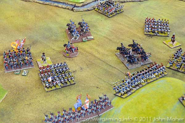 Turn 11: The KGL & Brunswick Hussars amongst the French