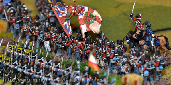 The 1/32nd Foot (Cornwall Regiment) in action.