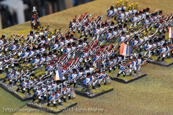 Soyes 2nd Brigade - 3rd & 1st Ligne