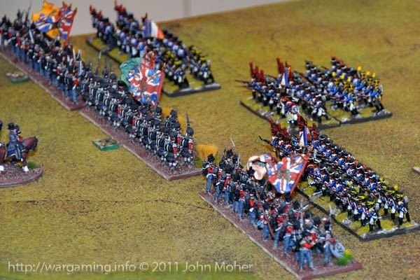 Turn 7 - Moment of Truth, the French are about to charge
