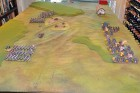 End of Turn 1 - The French initial advance.