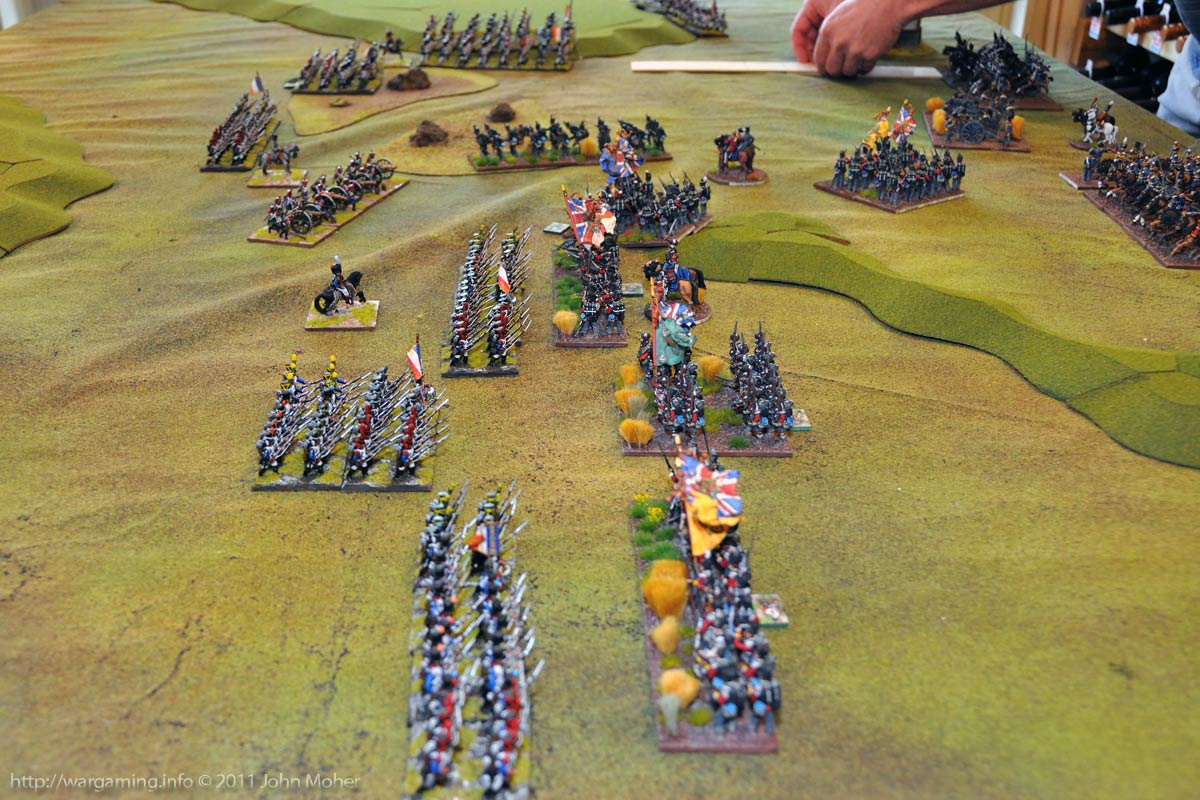 Early in Turn 5 - The battle lines approach each other!