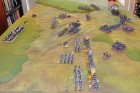 End of Turn 6 - The British complete their deployment, and charge Barbaux's guns to drive them off.