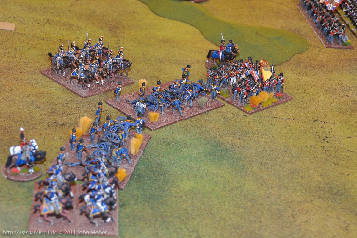"Early in Turn 7 - The British version of a ""Grande Batterie""!"