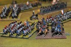 Mid-Turn 10 - The 7th Hussars charge the I/2nd Ligne.
