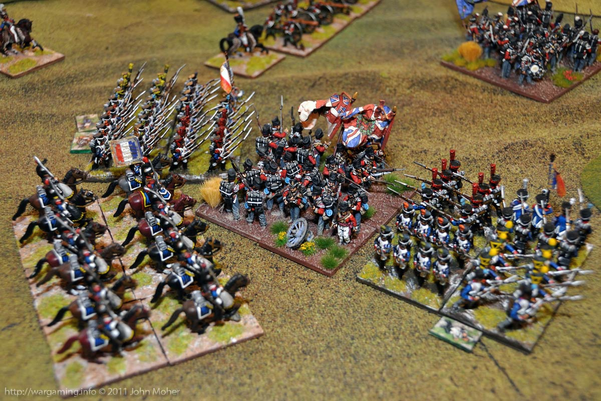 Early Turn 12 - The valiant last stand of the 1/32nd Cornwall.