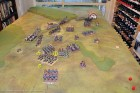 End of Turn 12 - The 1/32nd succumb, as the 13th Light Dragoons charge (too little too late).
