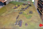 End of Turn 17 - Lebau's Horse Battery is overrun by the 3rd Hussars KGL, as the French continue to advance (and charge).