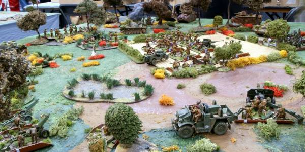 Oosterbeek Cauldron 1/35th WW2 Crossfire Demo Game.