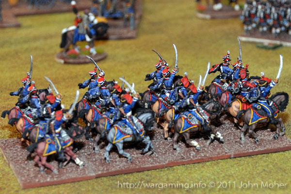 End of Turn 6 - The arrival of the 7th (Queens Own) and 15th (Kings) Hussars