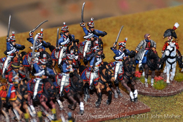 Late in Turn 9 - The 15th (Kings) Hussars