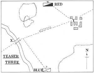 A typical 'Teasers' introductory map - this is from Teaser No.3 in June 1978.