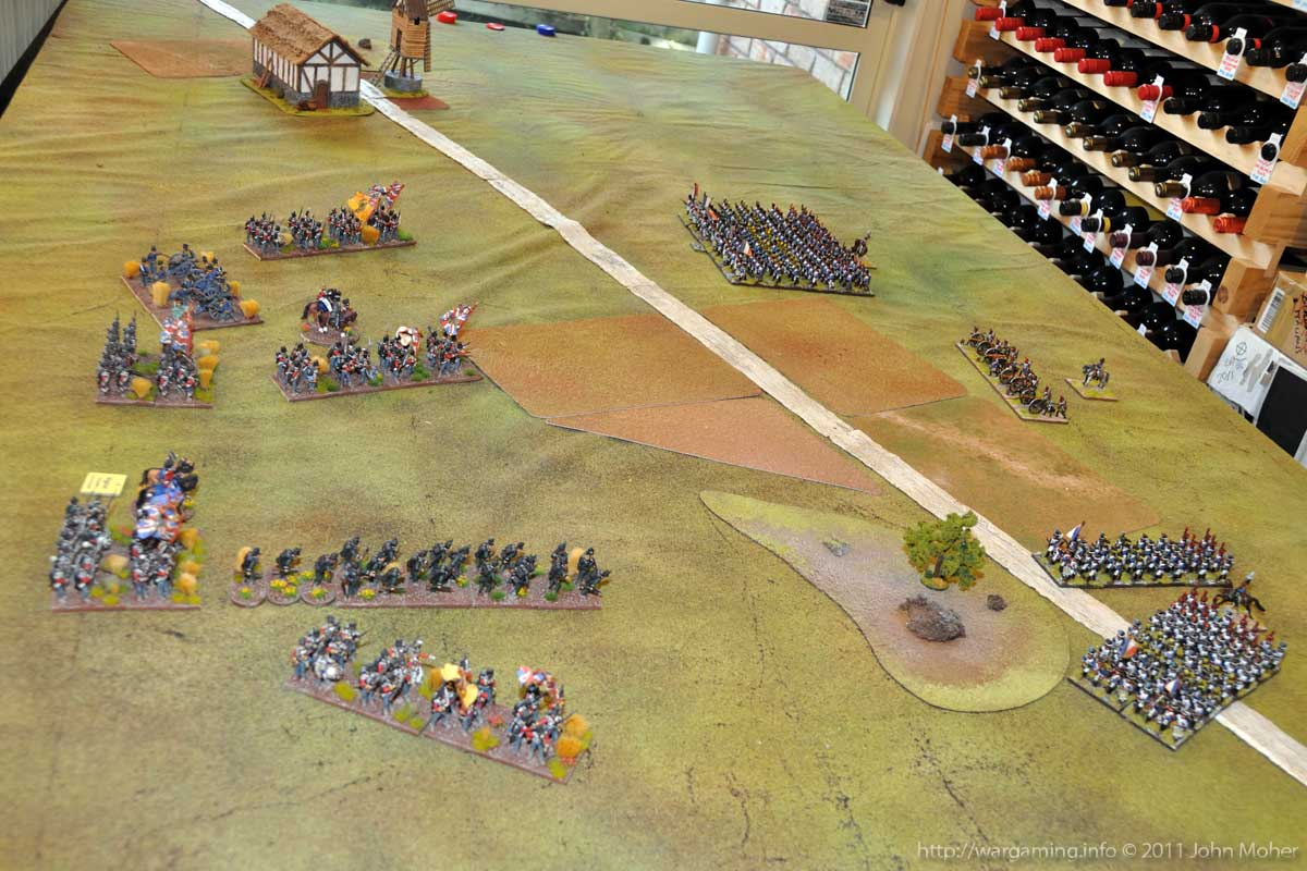 End of Turn 2 - the initial French & British moves completed.