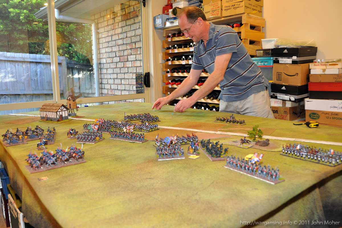 Near End of Turn 7 - Note the joy on Cam's face as he makes his reserve arrival roll!