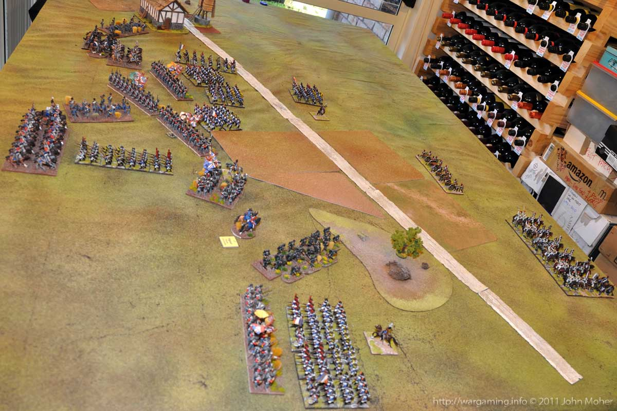 End of Turn 8 - This is all getting horribly congested on the British side.