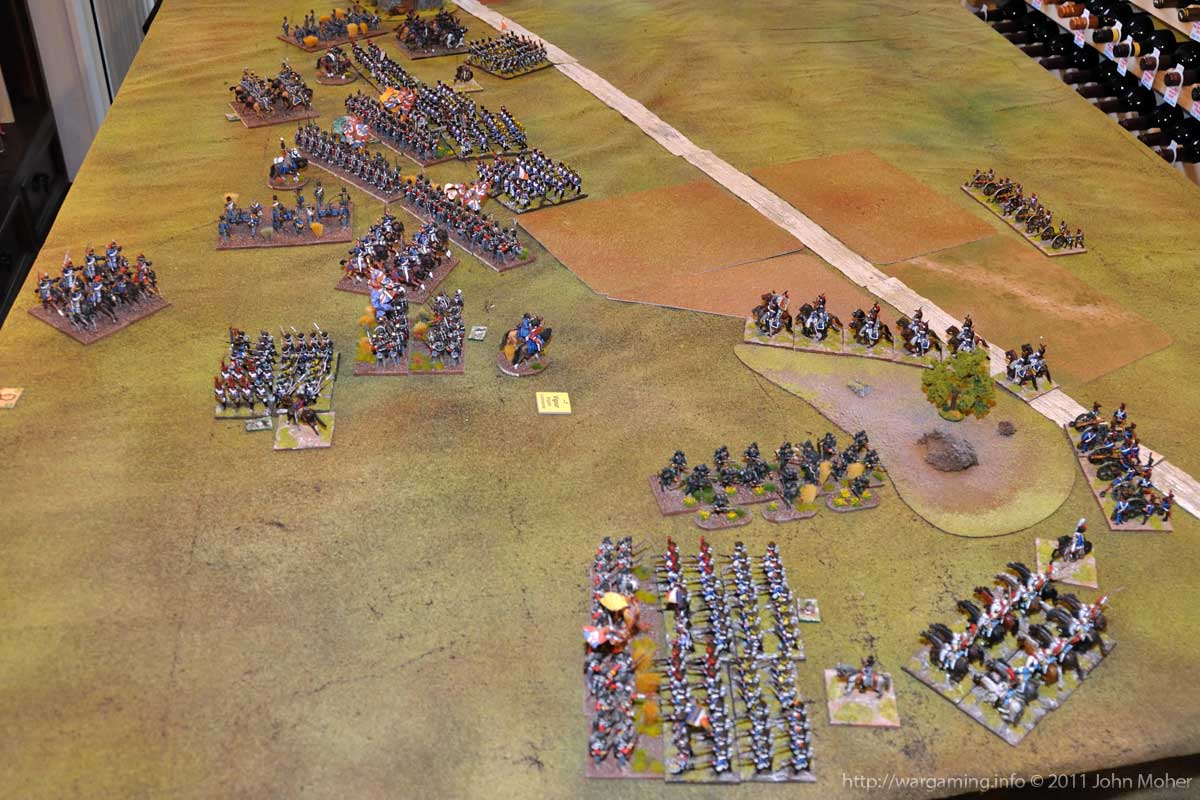 End of Turn 11 - The French Assaults continue....