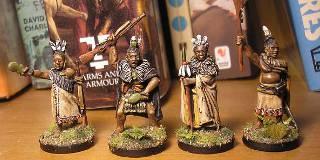Roly's NZ Wars Empress Figures