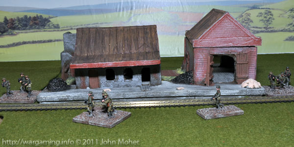 Lancer Miniatures Russian Railway Station
